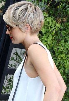Layered Hairstyle for Short Hair 2016 More