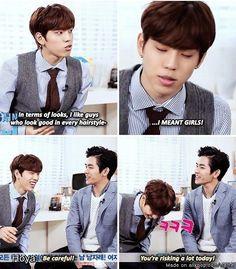 Puhaha Dongwoo what?! | Infinite
