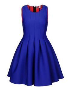 Blue Short dress Women's - #MSGM