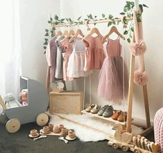 Make Your Room Looks Prettier with These 11 Awesome DIY Decor Ideas for Girls - Decoration Ideas Baby Room Decor, Nursery Room, Bedroom Decor, Nursery Ideas, Kids Decor, Diy Home Decor, Decor Ideas, Room Ideas, Dress Up Storage