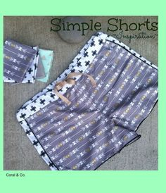 These are a must sew! I had so much fun sewing these shorts, so far I've  made 3 pairs. The pattern was simple to follow and it was FREE! I found  the pattern HEREand the fabric HERE. I am in love with this fabric called  Four Square by Simple Simon and Co. for Riley Blake Designs. The  instructions call for bias tape but I usedmini pom poms instead and it  came out so cute! This pattern is so versatile you can download both  ladies and kids sizes. Find Shelly's KID version for…