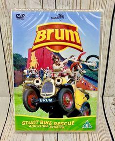 Brum - Stunt Bike Rescue (DVD, for sale online Stunt Bike, Stunts, Baseball Cards, The Originals, Movies, Kids, Ebay, 2016 Movies, Children