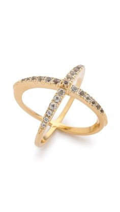 Elizabeth and James Northern Star Cross Band Ring