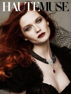 Bonnie Wright, who plays Ginny Weasley in the Harry Potter movies like she has never been seen before on the cover of Haute Muse July issue. What do you think of this other side of the actress?