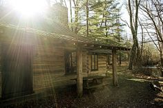 My Grandfather Rudy's Cabin Newlin Grist Mill | Flickr - Photo Sharing!