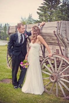 Country Western Photo Wedding Ideas