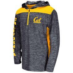 Cal Bears Colosseum Youth Quick Kick Quarter-Zip Hoodie - Navy - $27.99