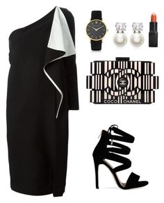 """""""My First Polyvore Outfit"""" by hasmasanalina ❤ liked on Polyvore featuring Chloé, Chanel, Judith Jack, Larsson & Jennings and Barry M"""