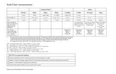 Sock math & foot measurements chart by Kristen Mangus at GoodKnit Kisses