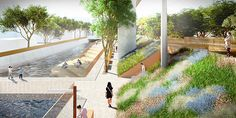 Image 2 of 11 from gallery of Mecanoo Designs Mile-Long Green Corridor Along Former Railway Line in Taiwan. Photograph by Mecanoo Architecten Amazing Architecture, Landscape Architecture, Landscape Design, Contemporary Architecture, Architecture Diagrams, Taiwan Image, Parque Linear, Green Corridor, Linear Park