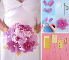 How to Make Floral Bouquets | ... Martha Stewart shows you how to make lovely paper flower bouquets