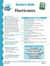 Free Download! 12-page Printable Lesson Plan for Kids Discover Hurricanes
