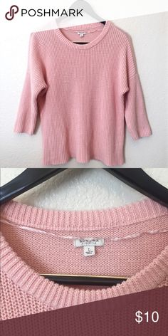 9791b17c48 Sonoma Salmon Pink Sweater Super comfy! Just not my color. No stains or  frays