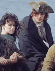 Jamie and Claire facing a new future together.