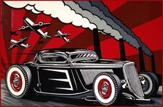 max grundy hot rod art
