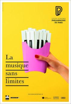 La agencia Betc diseña los carteles de la Filarmonica de París