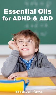 Essential oils for ADHD or ADD. Or for anyone that wants some extra, natural ways to calm down, or have extra help concentrating