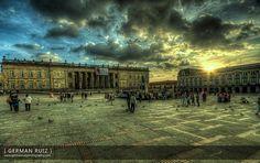 Plaza de Bolivar Photography Institute, Plaza, Louvre, Germany, World, Building, Travel, Spaces, Image