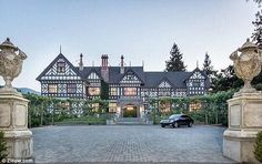 $27 million Tudor mansion - Silicon Valley, CA