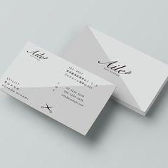 haru_Designさんの提案 - 美容師の名刺デザイン | クラウドソーシング「ランサーズ」