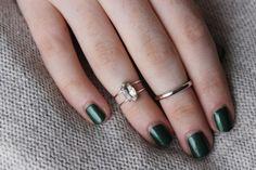encourage fashion: DIY Multiband Gemstone Ring