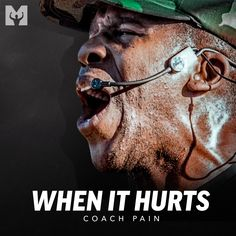 ALBUM NOW OUT! 🔥 The Motiversity x Coach Pain motivational album of the year is now available everywhere! Eleven powerful tracks that will inspire and motivate you like nothing ever before including 2 BRAND NEW previously UNRELEASED singles! #WhenItHurts Spoken by: Coach Pain. Edited by: Motiversity. Download or stream now on all major music and video platforms!
