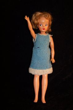 Vintage Tammy doll 1962 Ideal toy co. Collectible. via Etsy.