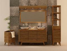 Ignisterra: Muebles de Baños en Madera de Teca