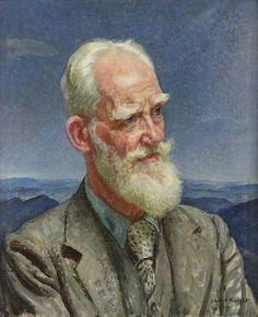 George Bernard Shaw (1856–1950), 1942 by Dame Laura Knight