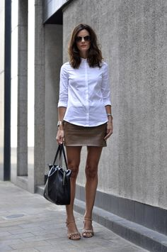 Hedvig Day 3. White shirt. Join in the fun on instagram @ShoppeGirls BLOG BLOG BLOG #sgdailystyle