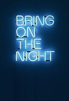 Neon headline visuals made for an Eristoff vodka campaign.