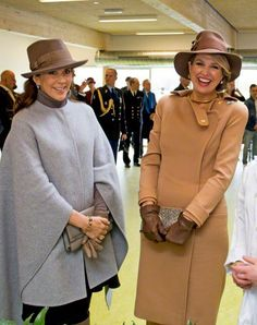 Queen Máxima and Crown Princess Mary, March 18, 2015 | Royal Hats
