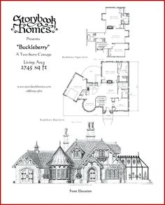 cottage plansunique storybook cottage plans or storybook homes floor plans unique s.You can fi.storybook cottage plansunique storybook cottage plans or storybook homes floor plans unique s.You can fi. Open Floor House Plans, Porch House Plans, 4 Bedroom House Plans, Cottage Floor Plans, Basement House Plans, House Plans One Story, Cottage Plan, Craftsman House Plans, Small House Plans