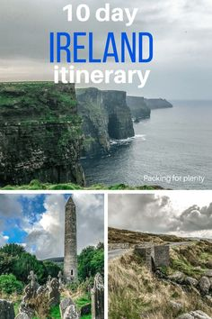 How to spend a week in Ireland: You'll have days exploring the Emerald Isle using Dublin as a home base. Dublin makes a great home base to explore the Cliffs of Moher, Blarney Castle, Glendalough, and more! via for plenty Ireland Vacation, Ireland Travel, Scotland Travel, Dublin, Travel Guides, Travel Tips, Travel Plan, Portugal, Emerald Isle