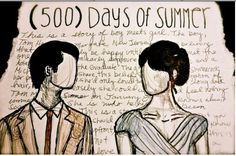 (500) Days of Summer sketch