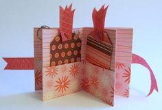 DIY Mini Scrapbooks – How to Make Mini Scrapbooks: One Sheet of Cardstock Mini Pocket Scrapbook