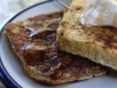 French toast has always been my very favorite breakfast indulgence. Faster to make (and moister) than pancakes, I think they are the perfect way to start a morning.
