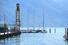 Riva del Garda, Lake Garda, Italy Riva Del Garda, Garda Italy, Lake Garda, Cn Tower, San Francisco Ferry, Building, Travel, Viajes, Buildings