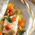 Fish Fillets with Tomatoes, Squash, and Basil - I love recipe that's easy to prepare and healthy