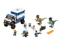 Just got this today!  OMG, the raptors and Owen are sooooo cute! Raptor Rampage  | LEGO Shop