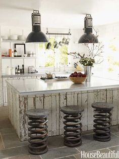kitchen island seating | 19 Must-See Practical Kitchen Island Designs With Seating