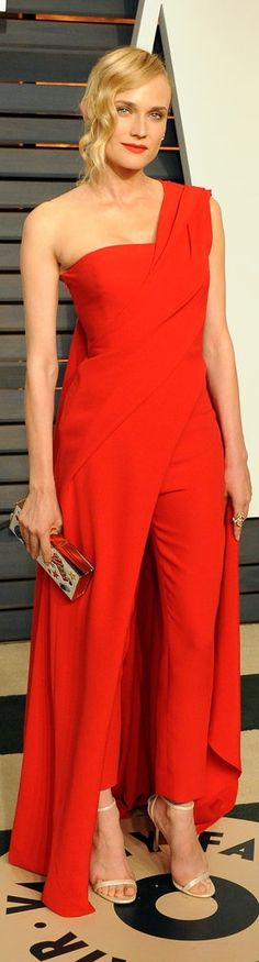 Diane Kruger's Donna Karan jumpsuit was one of our favorite looks from Oscars night!