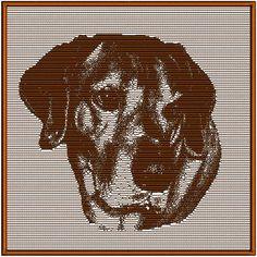 RidgebackDogLS  Machine Embroidery Design Pattern 3 by Dave7867, $3.00
