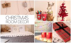 christmas room decor - Google Search