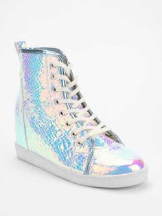 Don't settle for basic sneakers—these hologram shoes are way too cool to pass up!