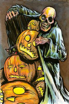 I got me LOTSA pumpkins from lotsa doorsteps!  HeeeeeHeheheheeeeeee!