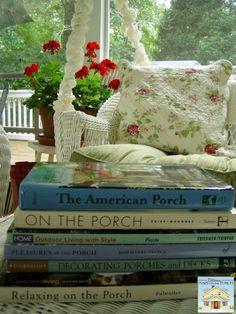 Porch pleasure reading