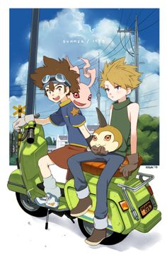 pictolita:  Taichi & Yamato, Digimon