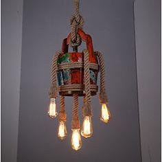 Ay Illuminate Nama 1 hanging lamp black rattan LIVING AND CO.