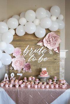 Fondant Flower Cupcakes, Fondant Flowers, Bridal Shower Decorations, Bride, Party Ideas, Kitchen, Wedding Bride, Bridal, Ideas Party